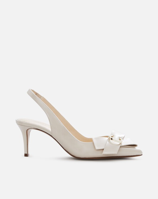 Patent leather court shoes - Mastic