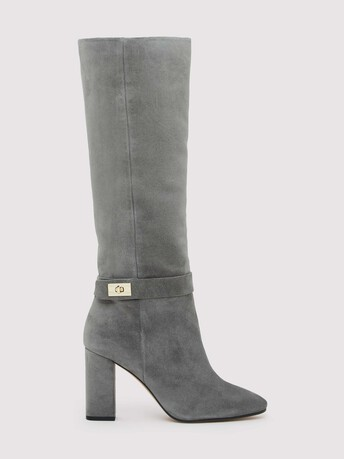 Suede boots - Gris