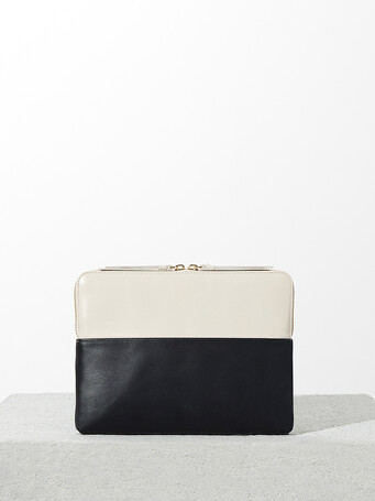 Pochette Tablette - Noir / sable