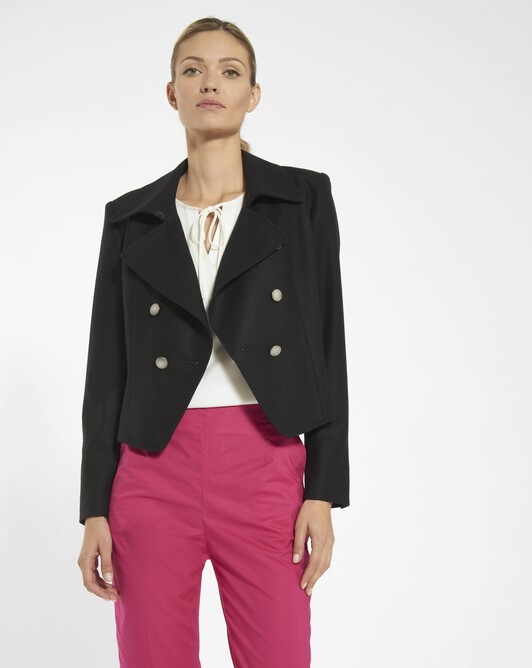 Wool jacket - Noir