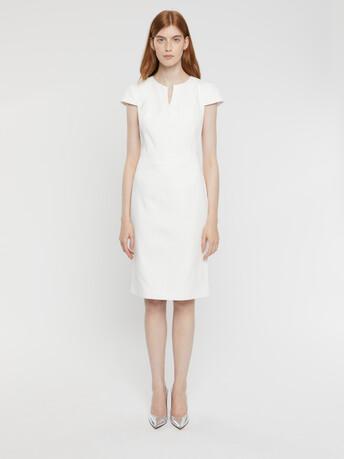 Cotton couture dress - White
