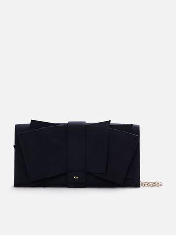 Stretch-ottoman bag - Noir