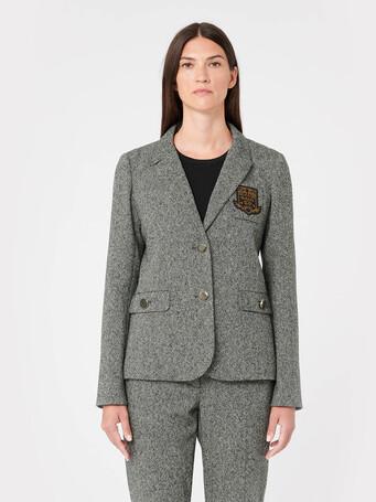 Tweed jacket - Noir