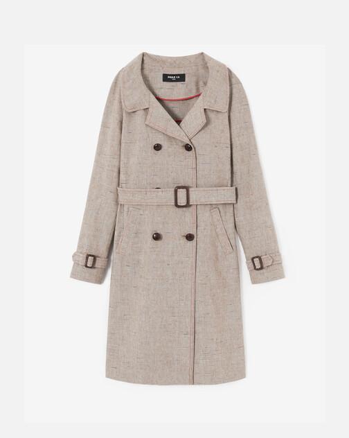 Manteau en lin