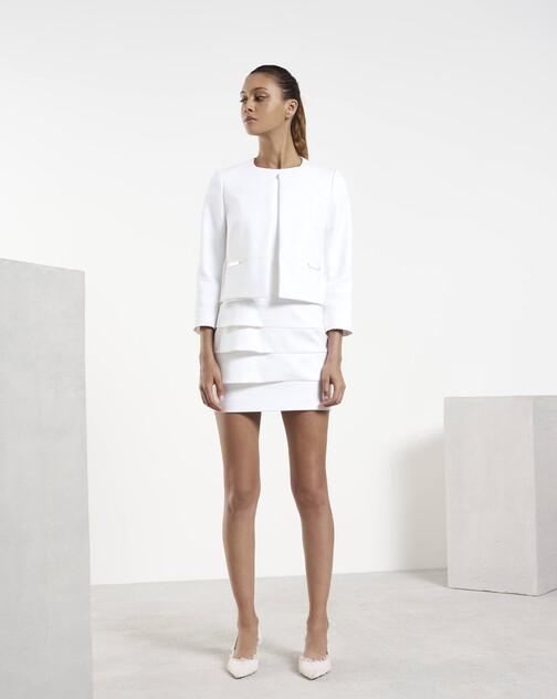 Veste en tricotine de coton