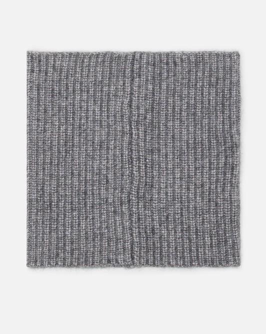Alpaca wool collar - Souris