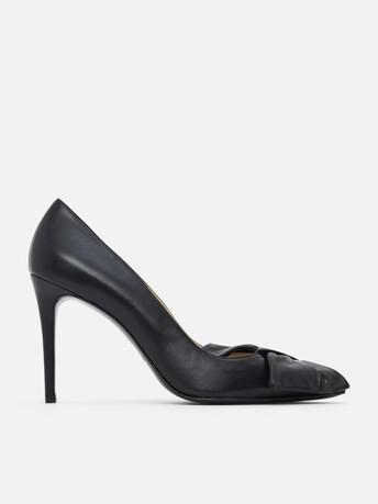 Nappa leather pumps - Noir