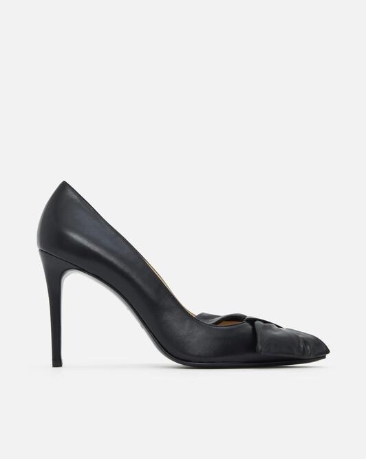 Nappa leather pumps - black