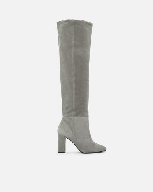 Suede boots - Grey