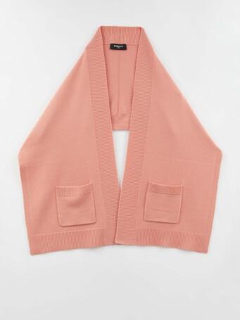 Foulard en laine et en cachemire - Eau de rose