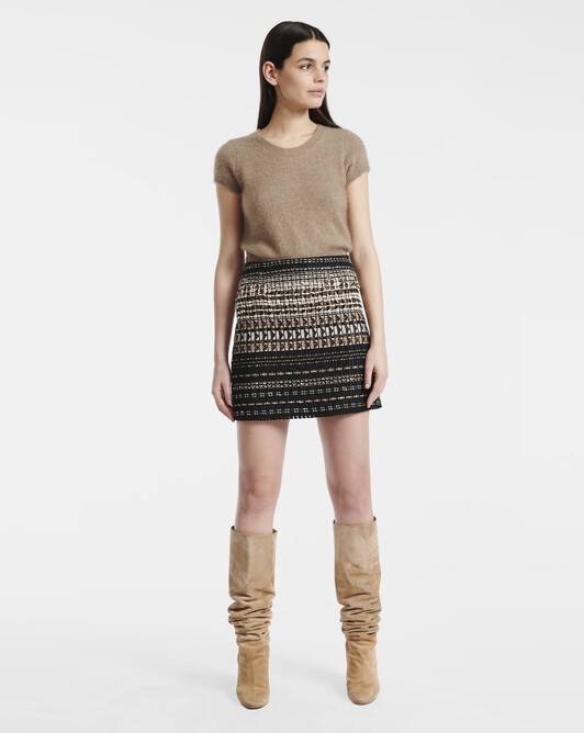 Raccoon sweater - Beige