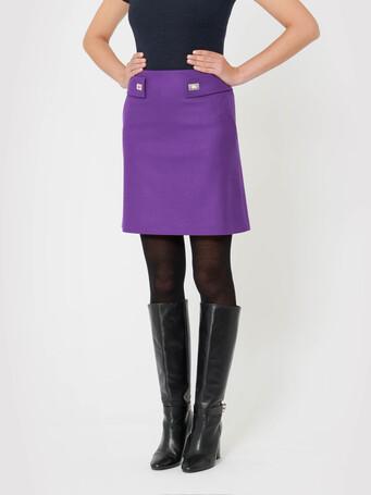 Wool skirt - Amethyste