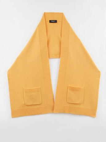 Wool and cashmere scarf - Curcuma