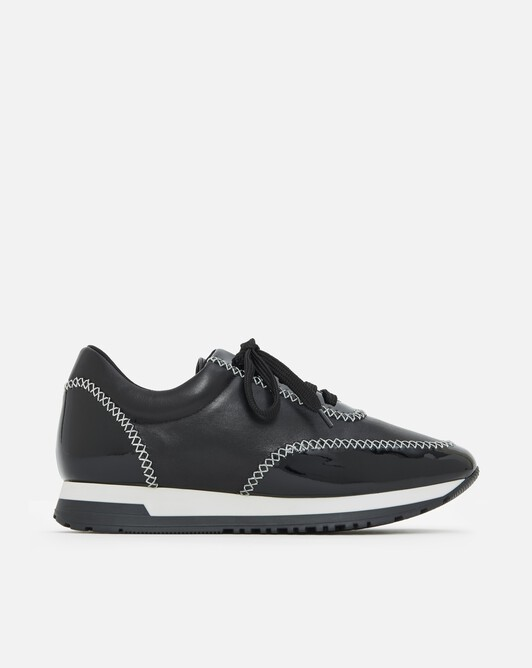 Patent leather sneakers - Noir
