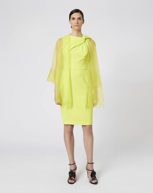 Veste en organza - Lime