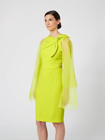 Organza jacket - Lime