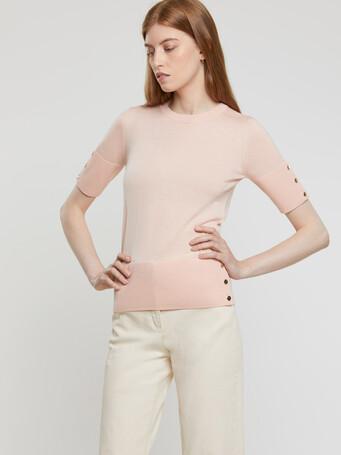 Merino-wool top - Poudre