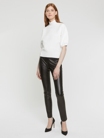 Technical-knit top - Off white
