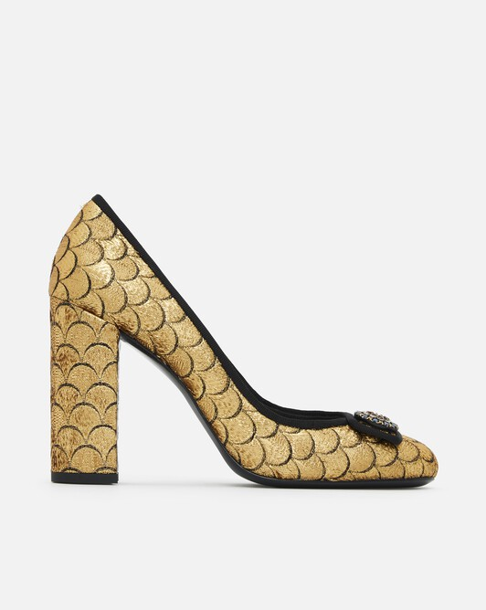 Scaled-jacquard pumps - Or