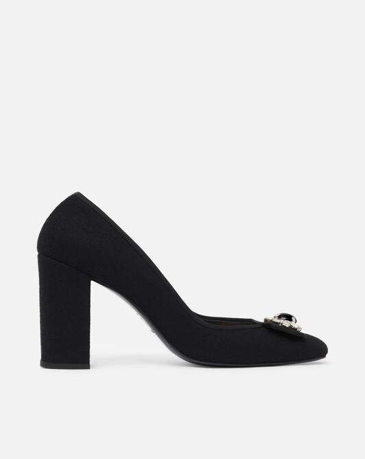 Wool pumps - black