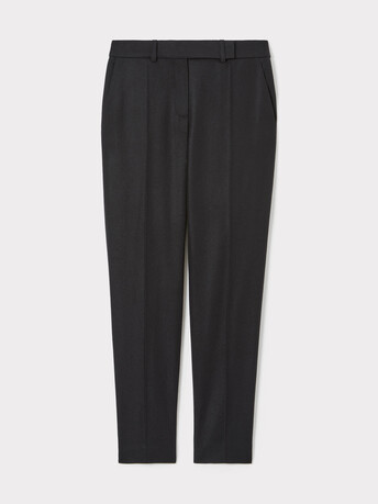 Wool pants - Noir
