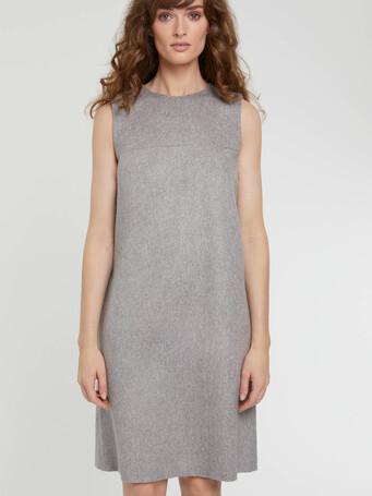 WOVEN DRESS - Souris