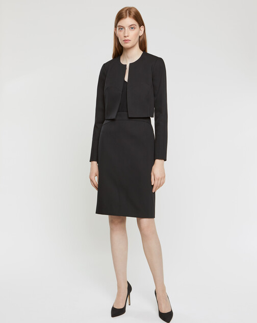 Veste en coton couture