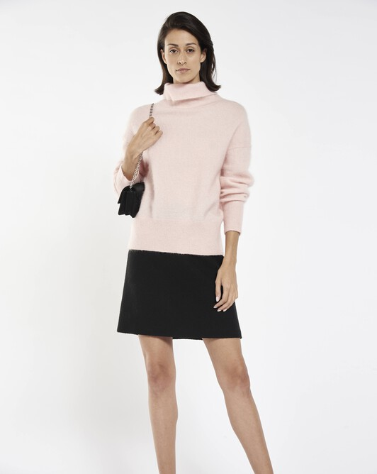 Mohair sweater - Rose pale