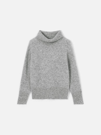 Mohair sweater - Souris