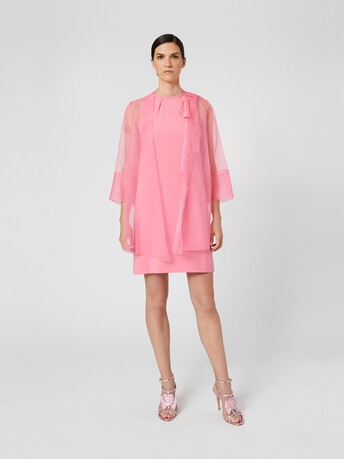 Organza jacket - Bubble gum