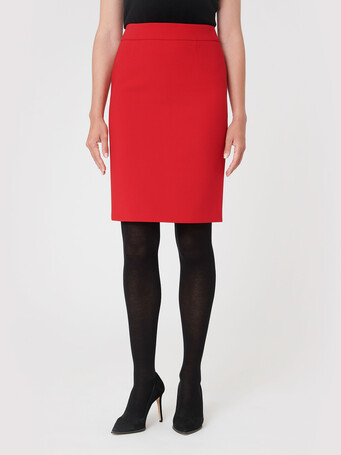 Stretch-tricotine skirt - Pomme d'amour
