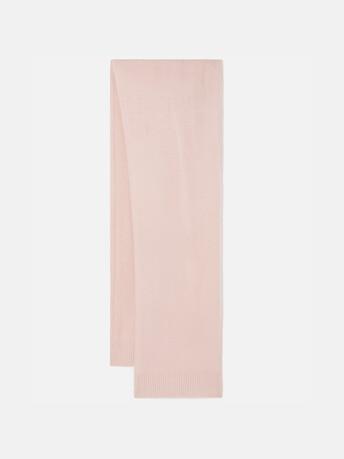 Echarpe en laine cachemire - Rose pale