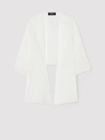 Veste en organza - Blanc casse