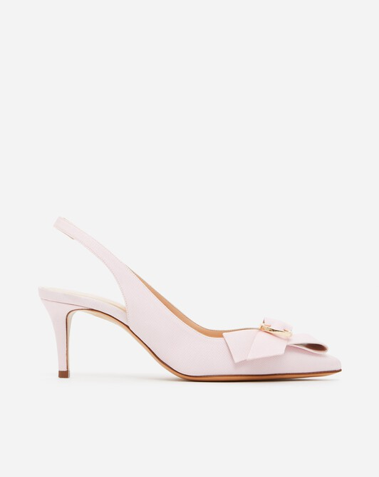Sandales en ottoman - Magnolia