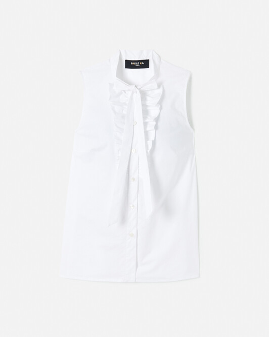 WOVEN SHIRT - White