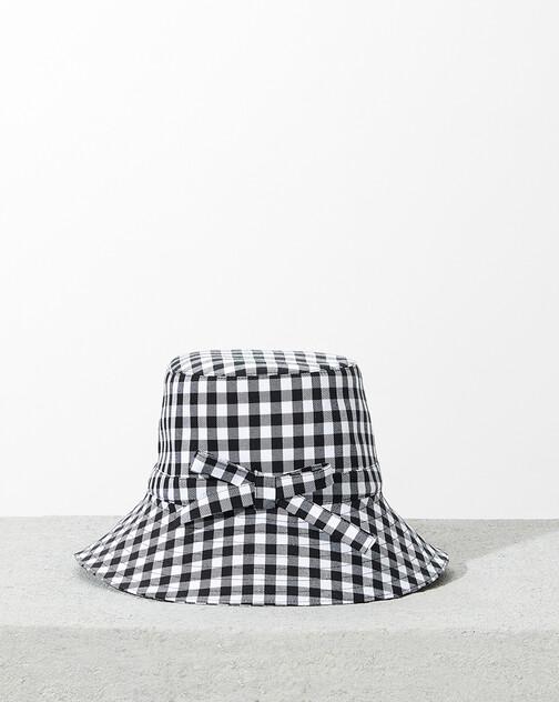 Chapeau en damier