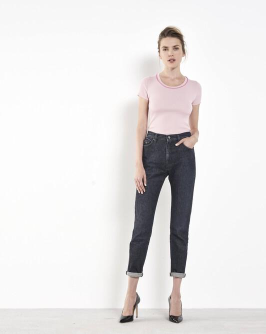 Merino wool sweater - Rose pale / pivoine