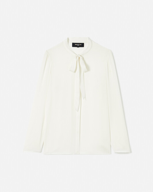 WOVEN SHIRT - Off white