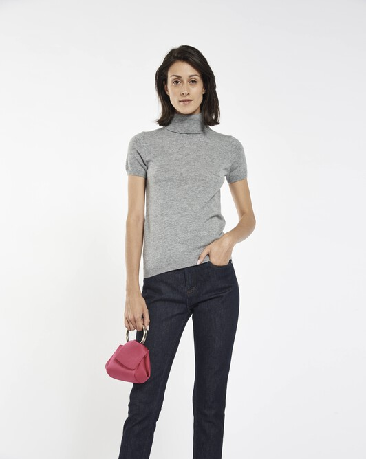 Cashmere wool sweater - Souris