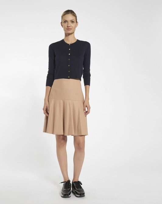 Wool skirt - Beige