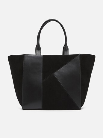 Leather bag - Noir