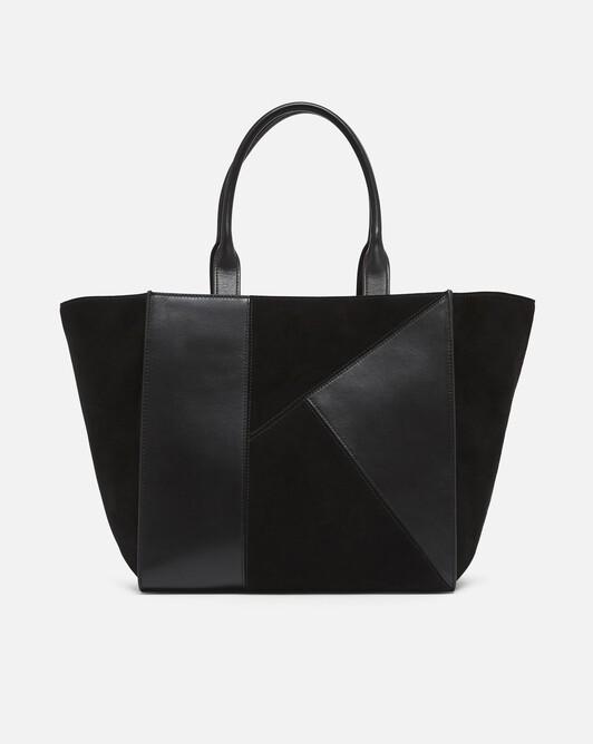Leather bag - Noir