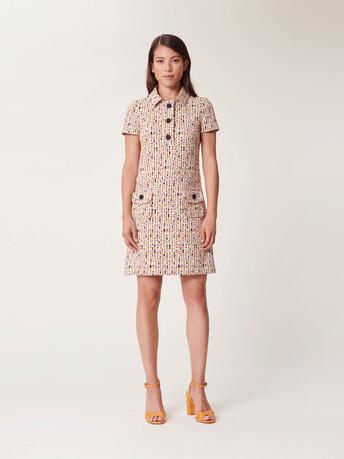 Jacquard dress - Multicolore