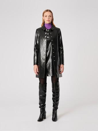 Vinyl coat - Noir