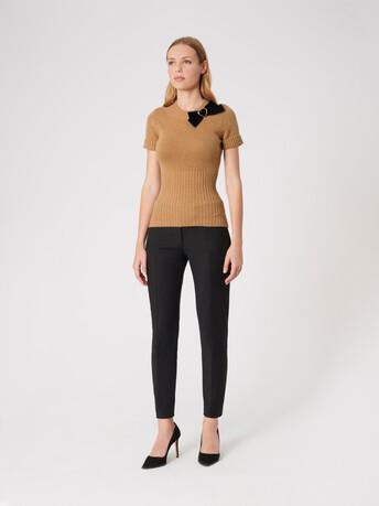 Wool sweater - Camel