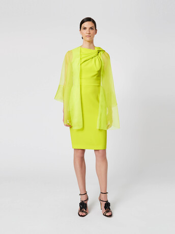 Organza jacket - Lime
