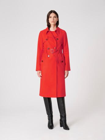 Wool coat - Cornaline