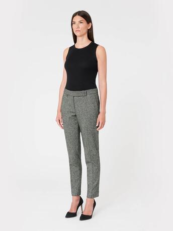 Tweed pants - Noir