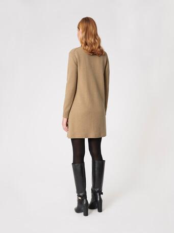 Cardigan en laine et cachemire - Beige