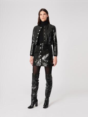 Vinyl jacket - Noir